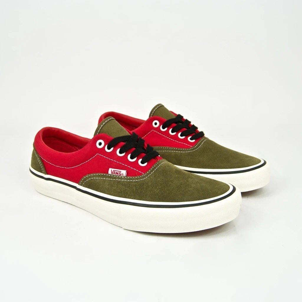 Vans x Lotties Era Pro (Red/Military)