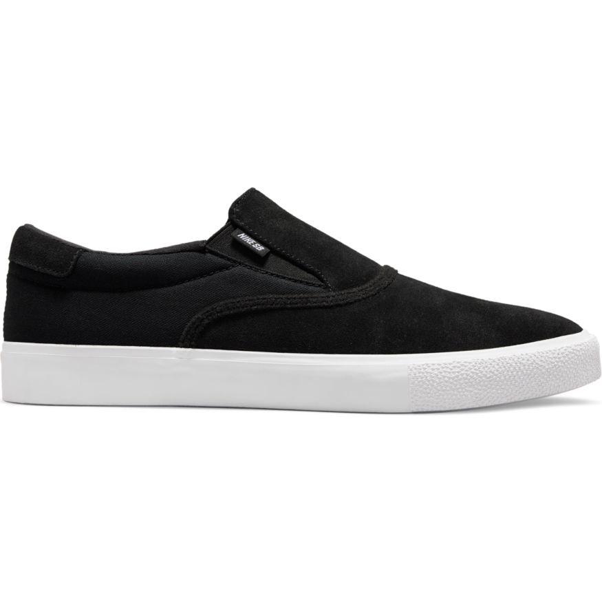 Nike SB Zoom Verona Slip Black/White-Black