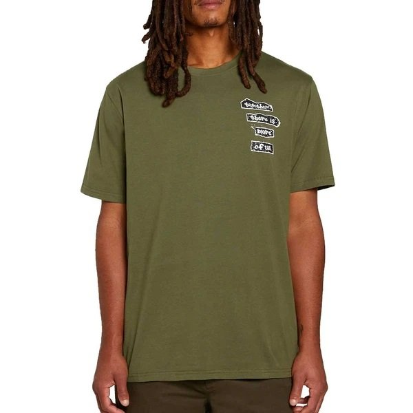 Volcom More of Us s/s Tee Military Green