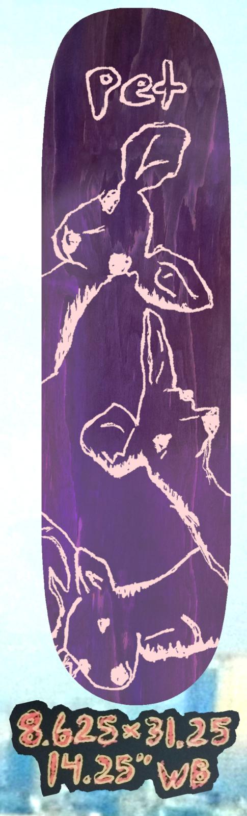 Pet Whitetail 8.625 x 31.125