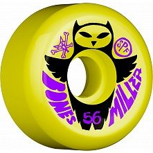 BONES WHEELS SPF Chris Miller Owl yellow 56mm 84b