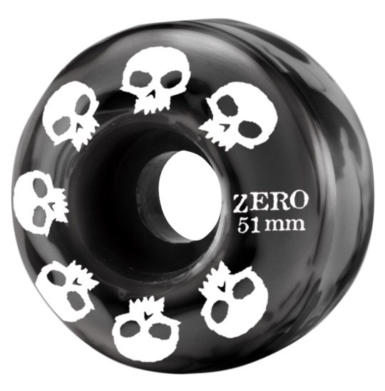 Zero Multi Skull Wheels black/grey 51mm 99a