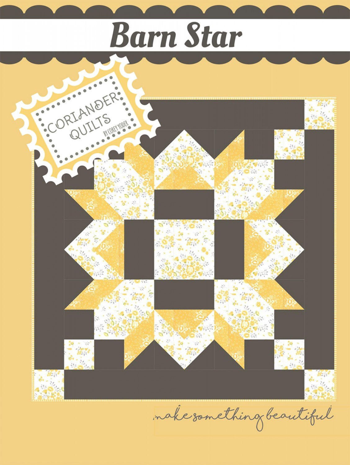 Barn Star from Coriander Quilts