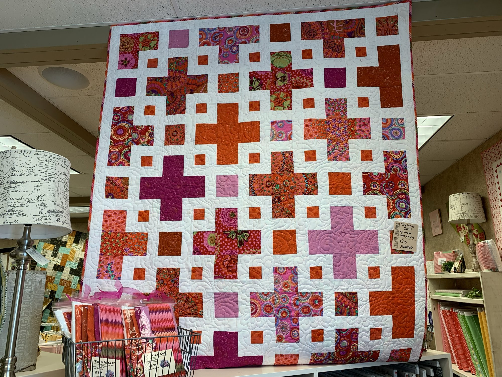 The Violet Quilt Kit and Pattern