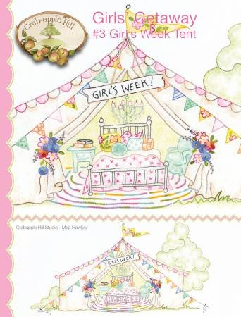 Girls Getaway #3 Girls Week Tent by Crabapple Hill Studios