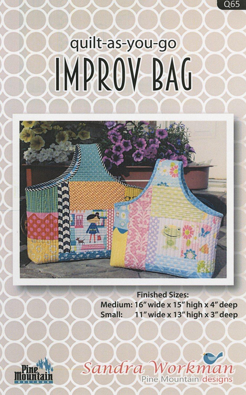 Improv Bag from Quilt As You Go