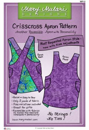 Criss Cross Apron from Marys Productions