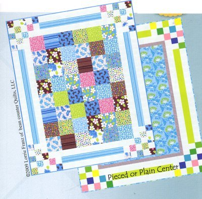 Bouncing Borders by Bean Counter Quilts