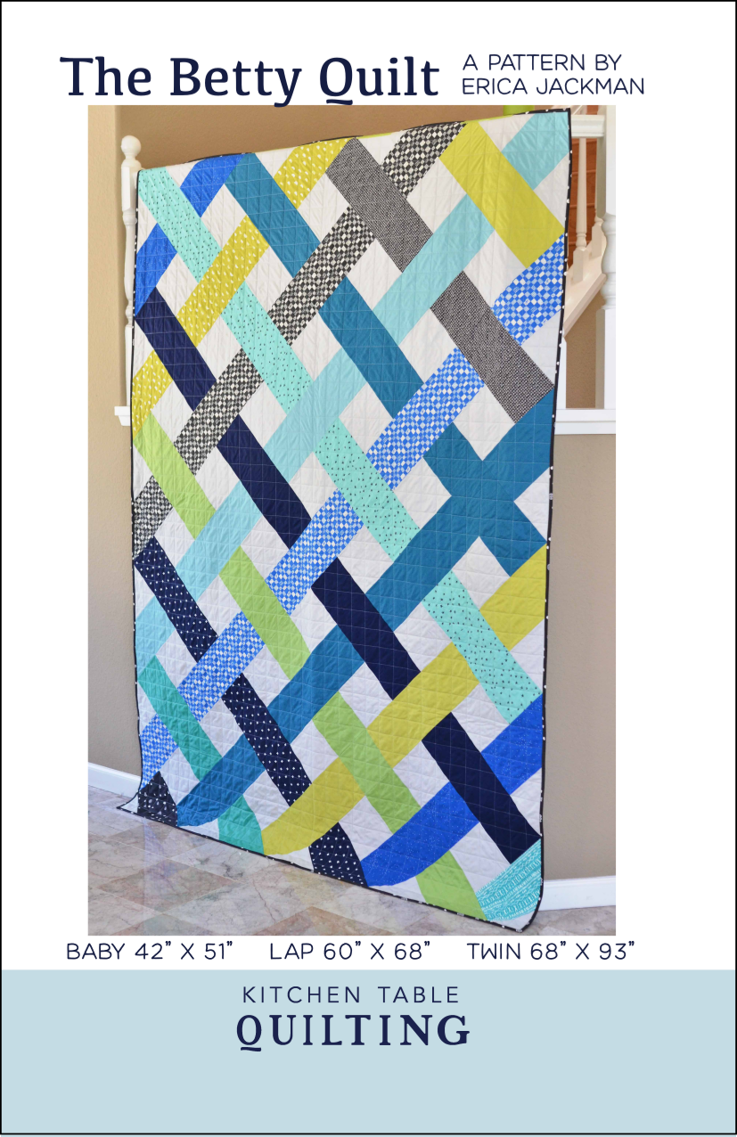 The Betsy Quilt from Kitchen Table Quilting