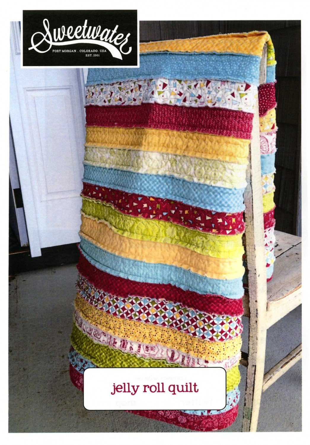 Jelly Roll Quilt by Sweetwater