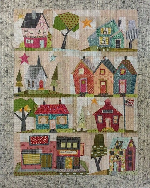 My Kinda Town by Laura Heine & Peggy Larsen for Fiberworks