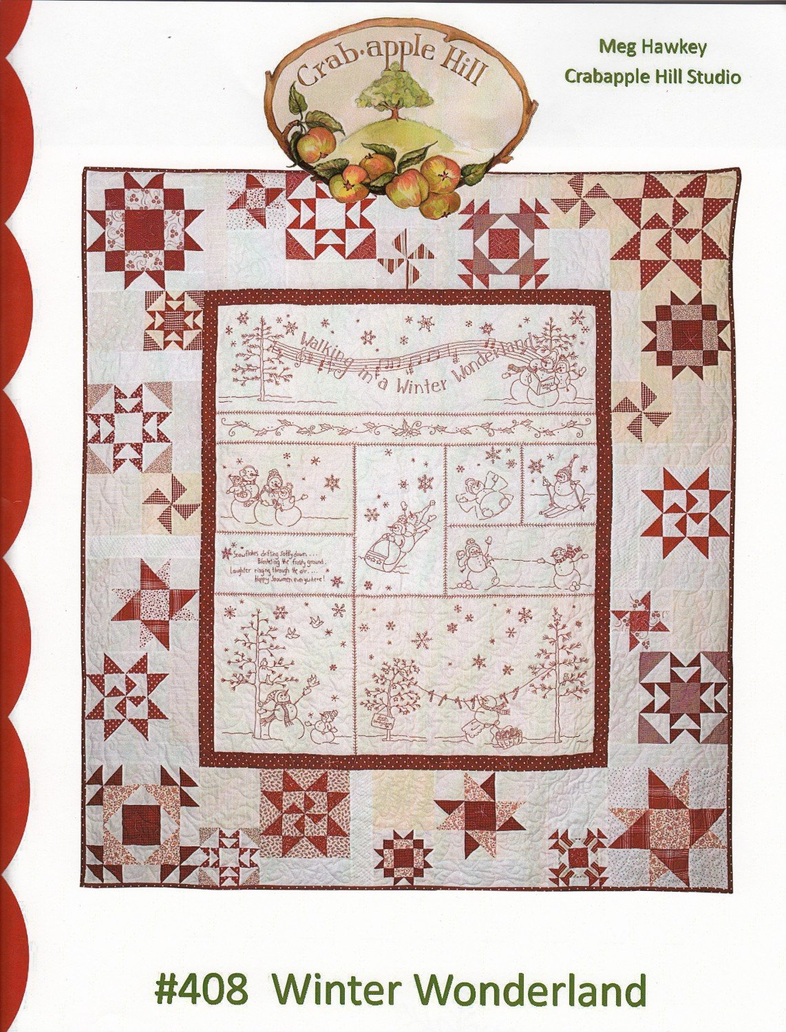 #408 Winter Wonderland from Crabapple Hill Studio by Meg Hawkley