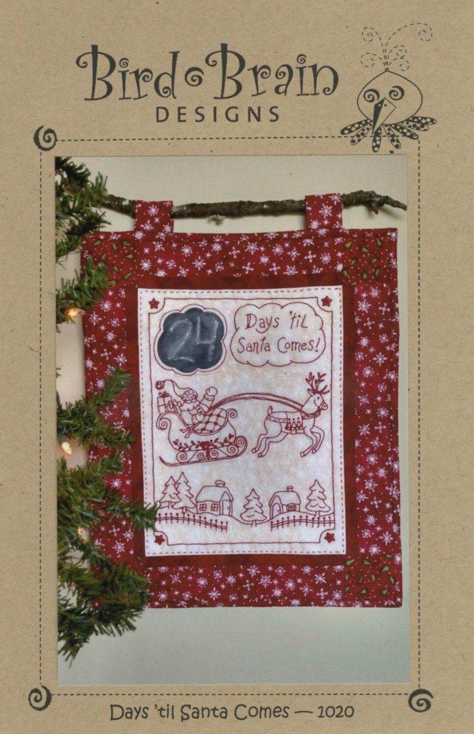 Days 'till Santa Comes by Bird Brain Designs
