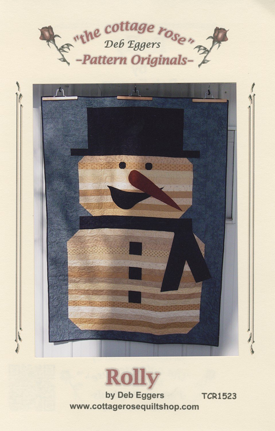 Rolly by Deb Eggers from Cottage Rose Quilts