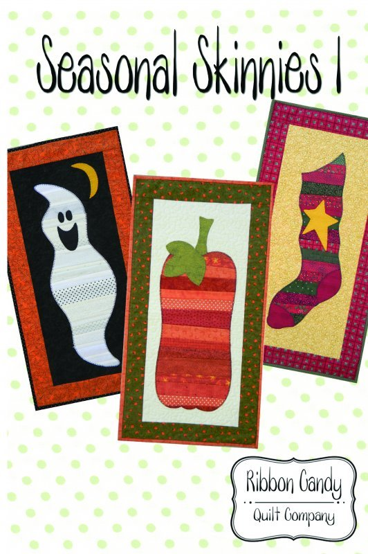 Seasonal Skinnies 1 by Ribbon Candy Quilts
