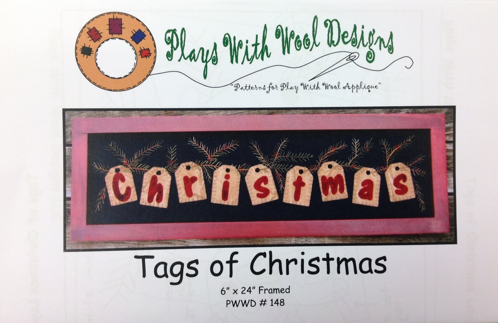 Tags of Christmas by Plays With Wool Designs