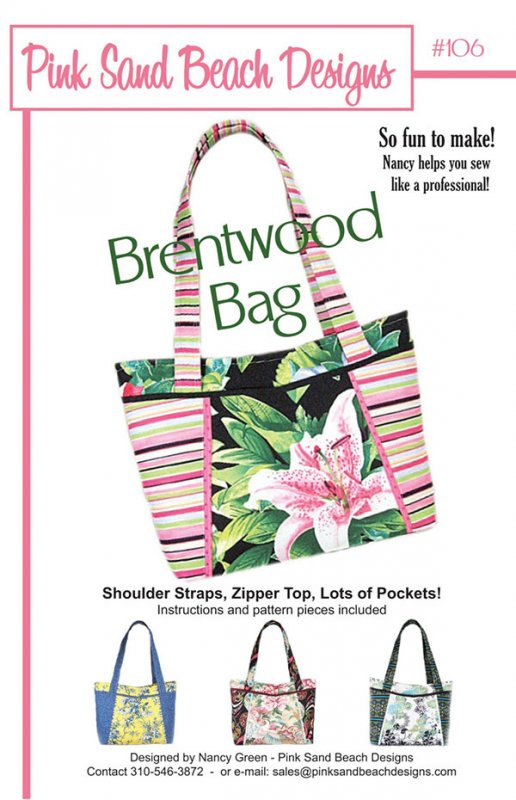 The Brentwood Bag by Pink Sand Beach Designs