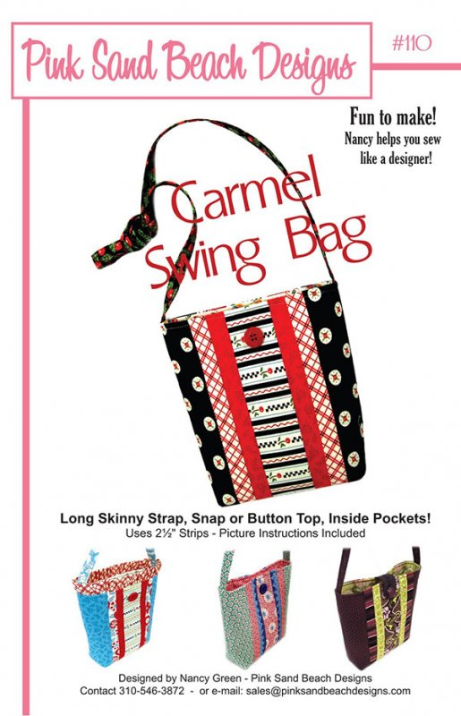 The Carmel Swing Bag by Pink Sand Beach Designs