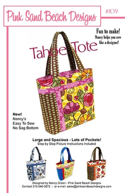 The Tahoe Tote by Pink Sand Beach Designs