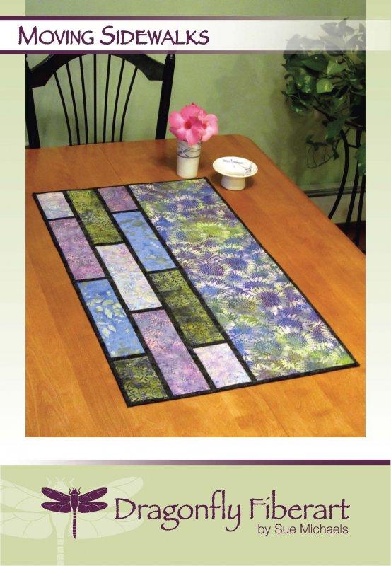 Moving Sidewalks Table Runner Pattern Card
