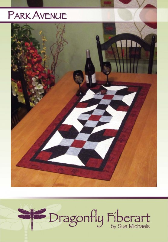Park Avenue Table Runner Pattern Card