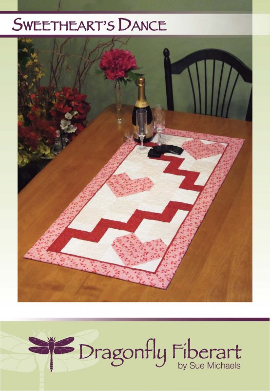 Sweethearts Dance Table Runner Pattern Card