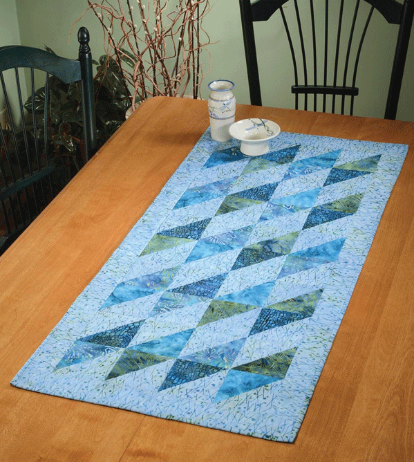 Bayside Table Runner Pattern Card - SALE - Discontinued