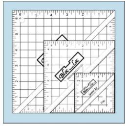 Bloc Loc HST Acrylic Ruler Set#2