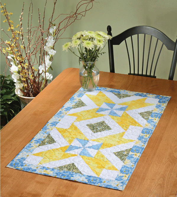 Double Dutch Treat Table Runner Pattern Card