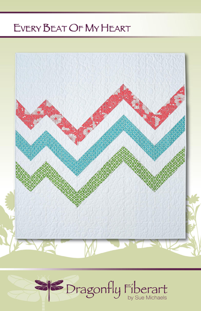 Every Beat of My Heart Pattern Card