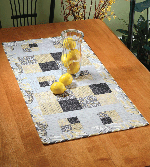Four Better or Worse Table Runner Pattern Card