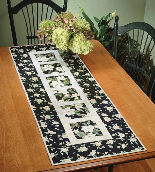 Garden Path Table Runner Pattern Card