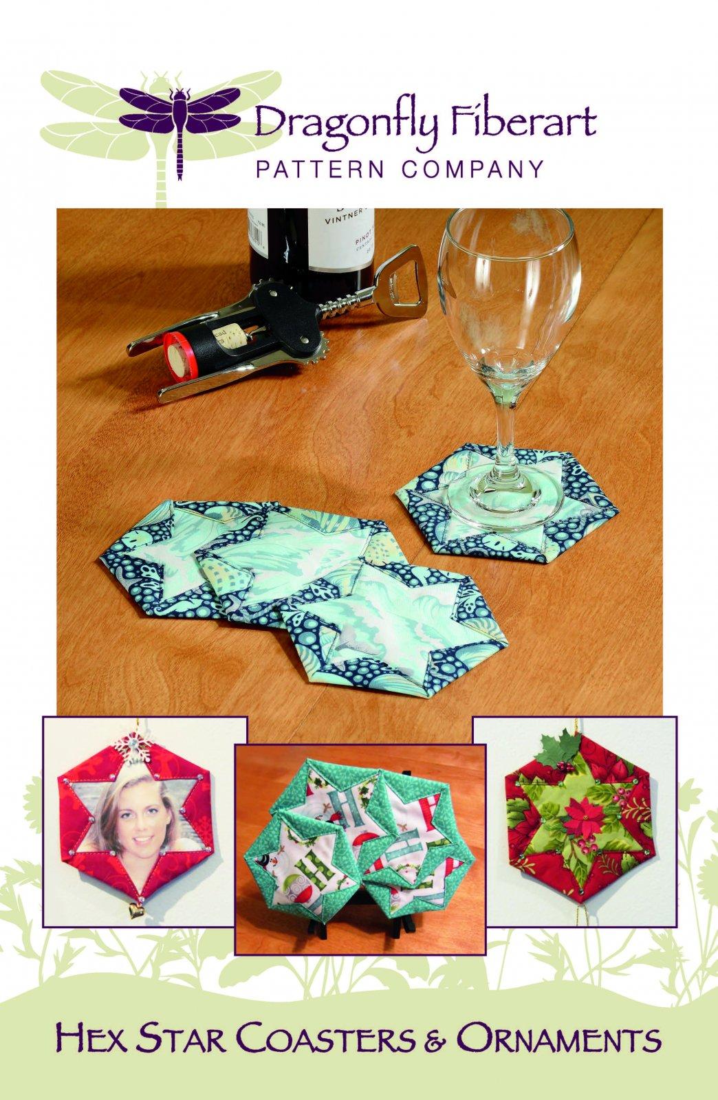 Hex Star Coasters Pattern Card