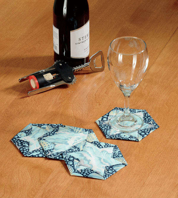 Hex Star Coasters Pattern Card