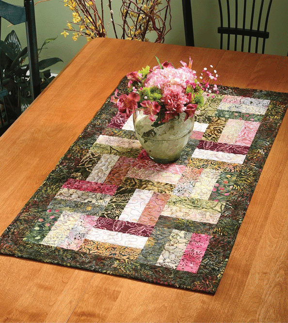 Hobo Rails Table Runner Pattern Card
