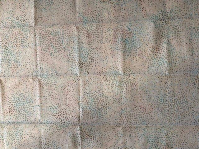 Hoffman Batik 1/2 Yard Cut Aqua Multi Speckle