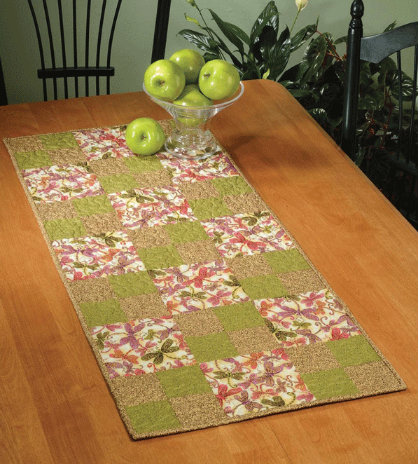 Hopscotch Table Runner Pattern Card