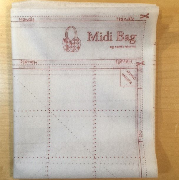 Midi Bag Interfacing Refill