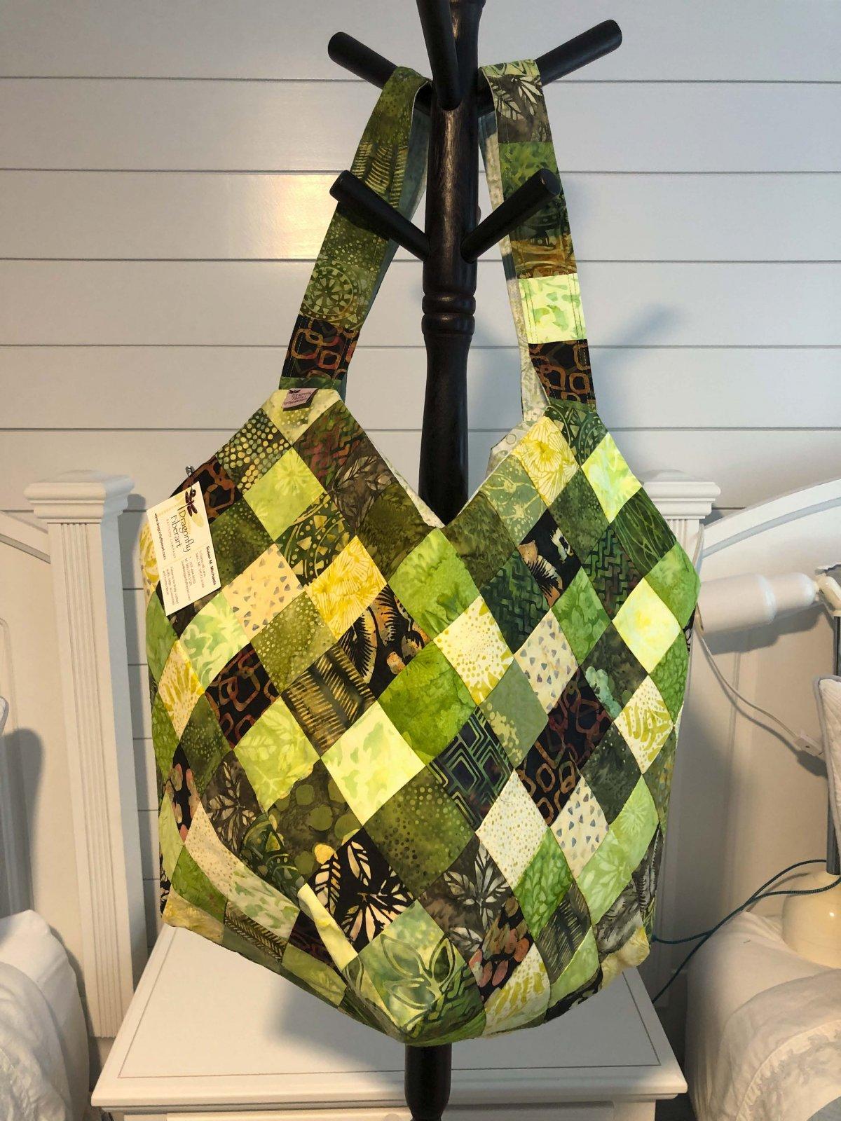 Mondo Bag - Jade Batiks