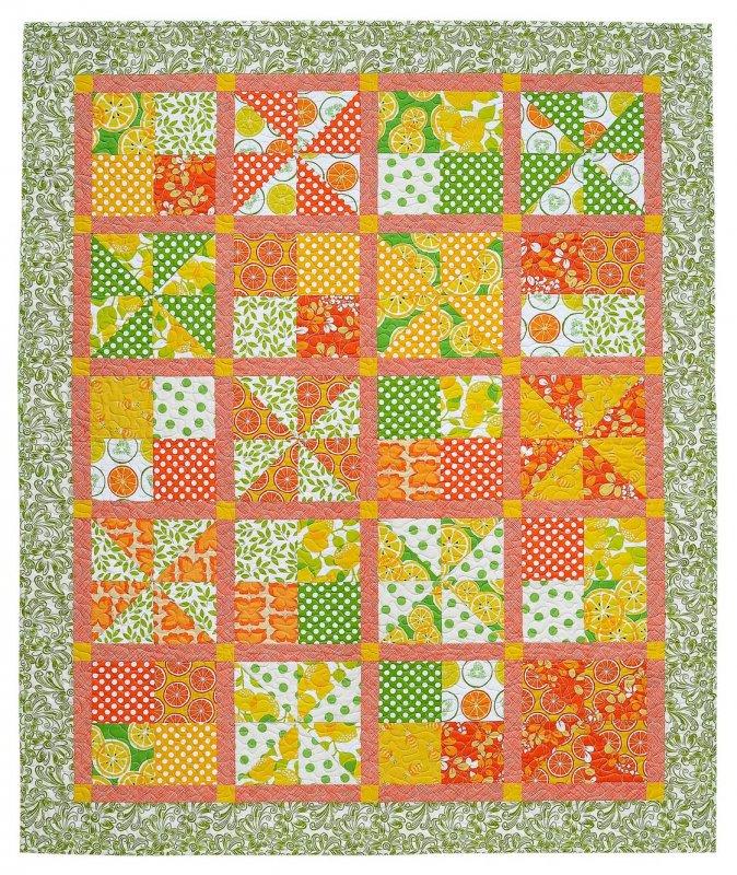 Pinwheel Picnic Pattern Card