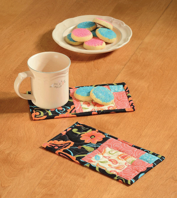 Sassy Mug Rugs Pattern Card