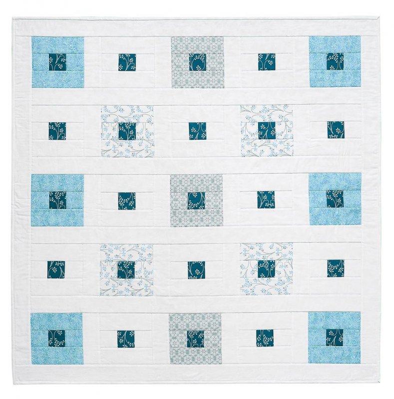Window Panes Pattern Card