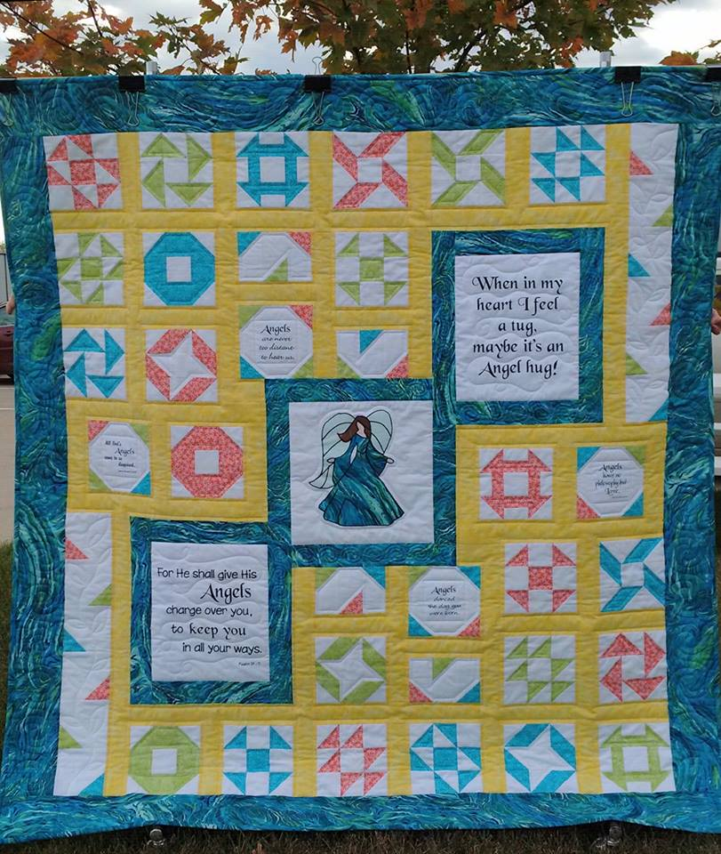 Believe in Angels Quilt Kit