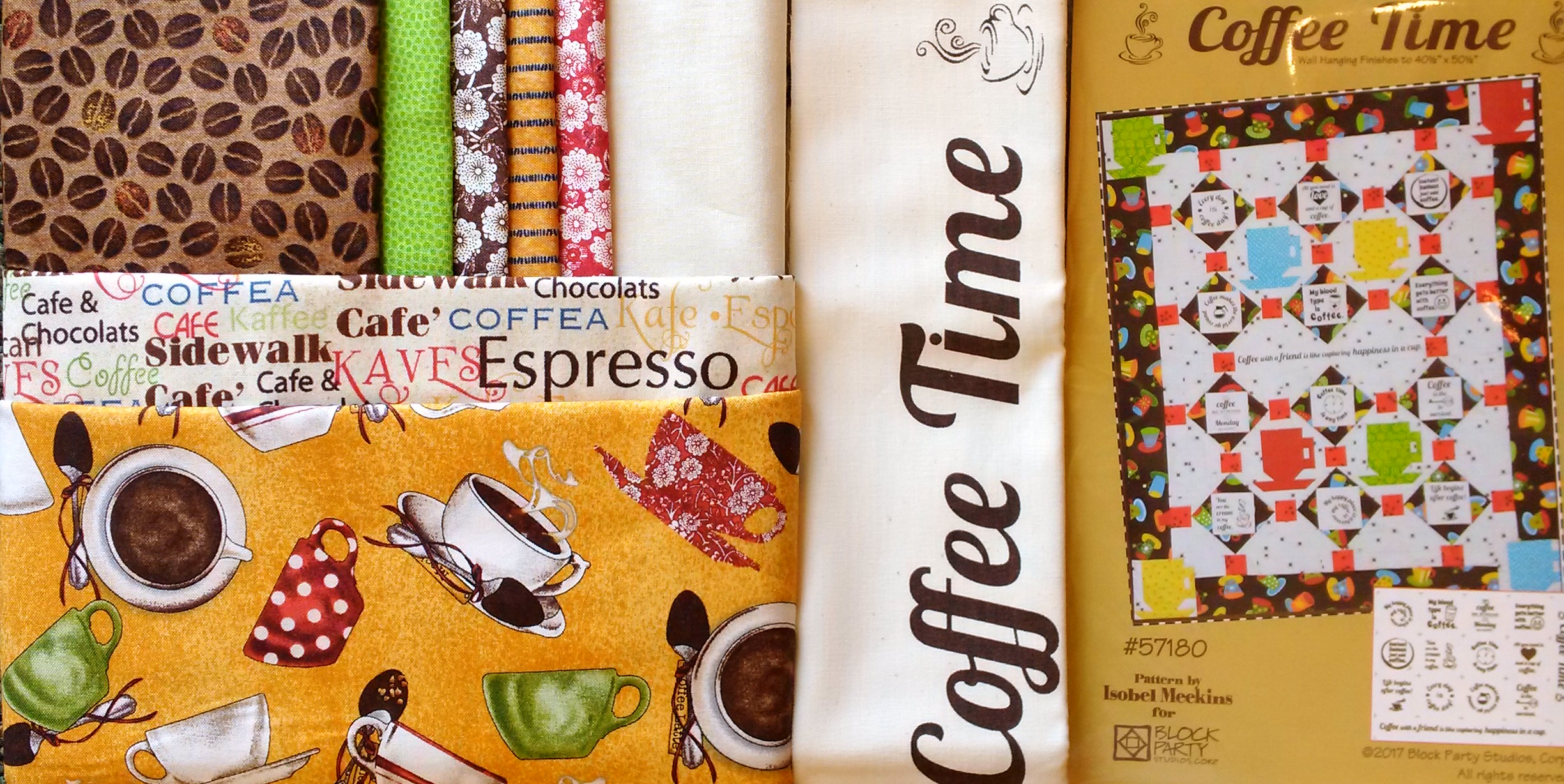 Coffee Time Quilt Kit