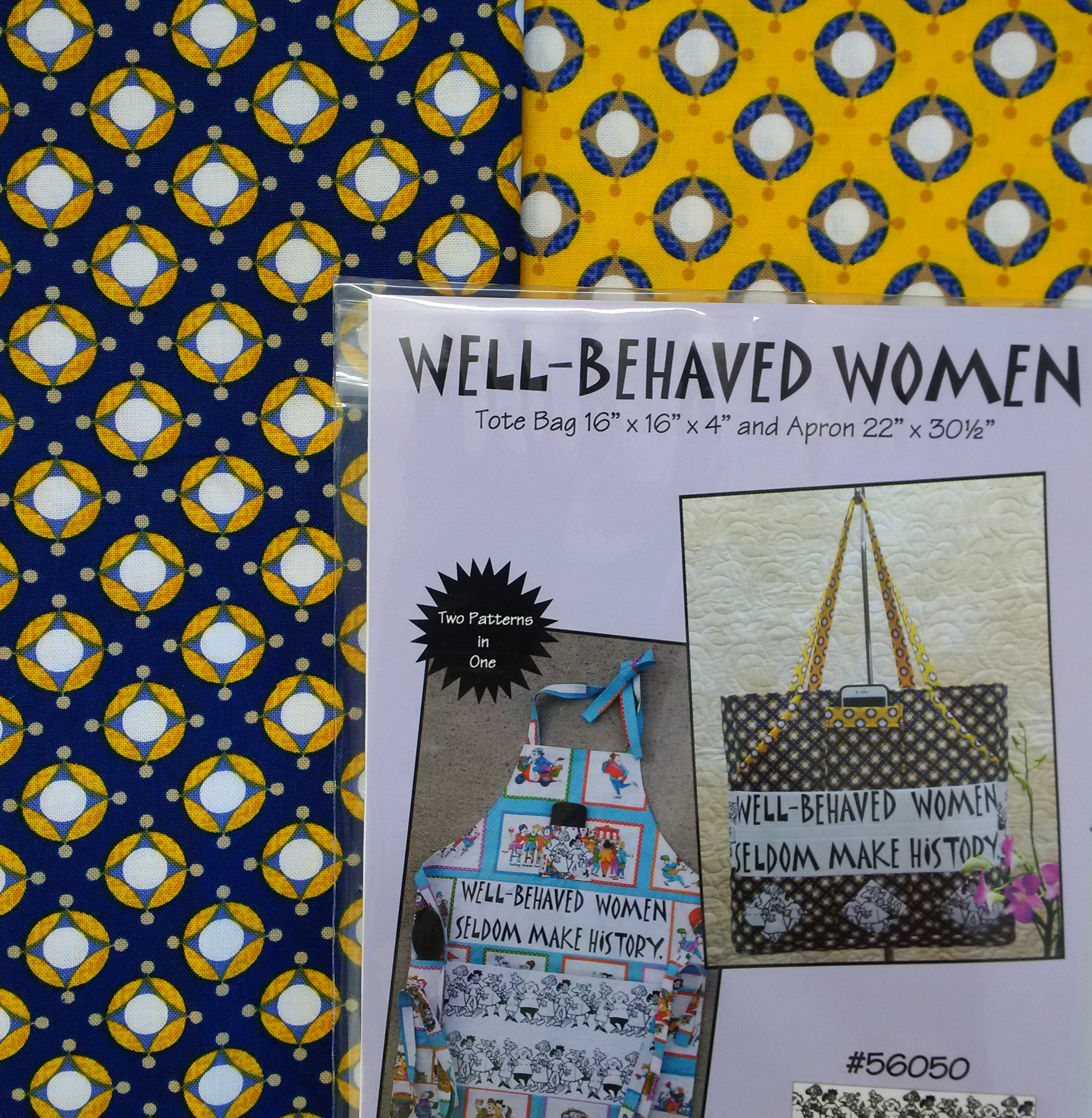 Well Behaved Women Tote Bag Kit