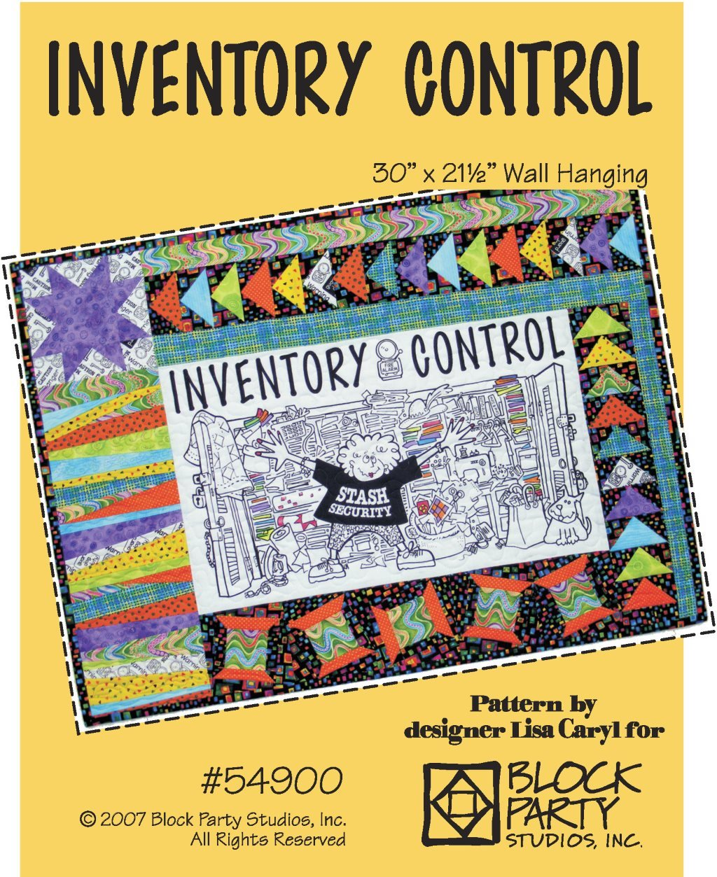 Inventory Control Quilt Pattern Only