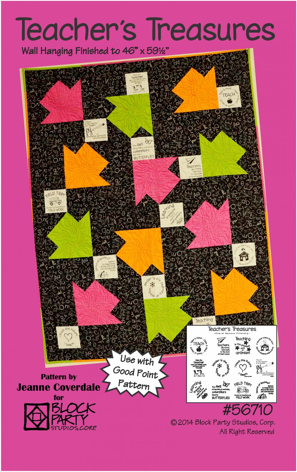 Teacher's Treasures Fabric Panel & Pattern