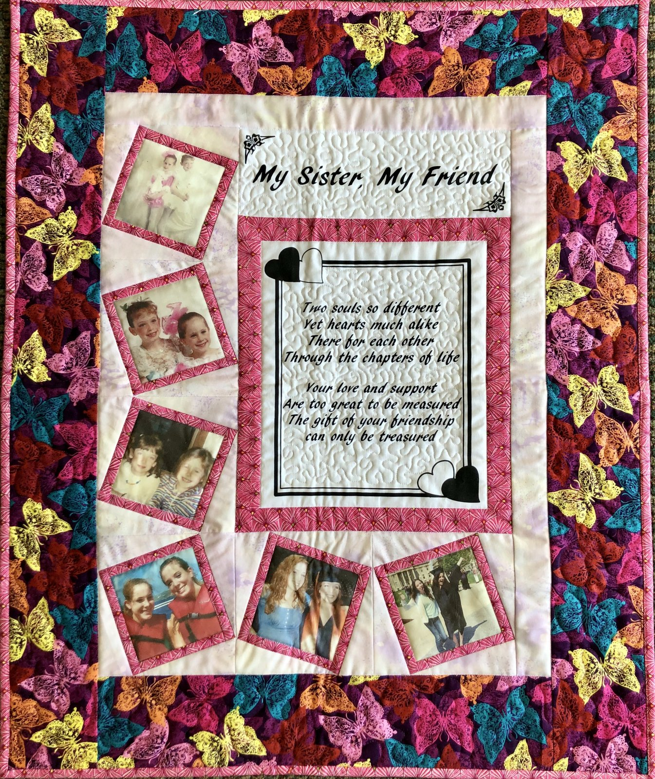 My Sister My Friend Quilt Kit