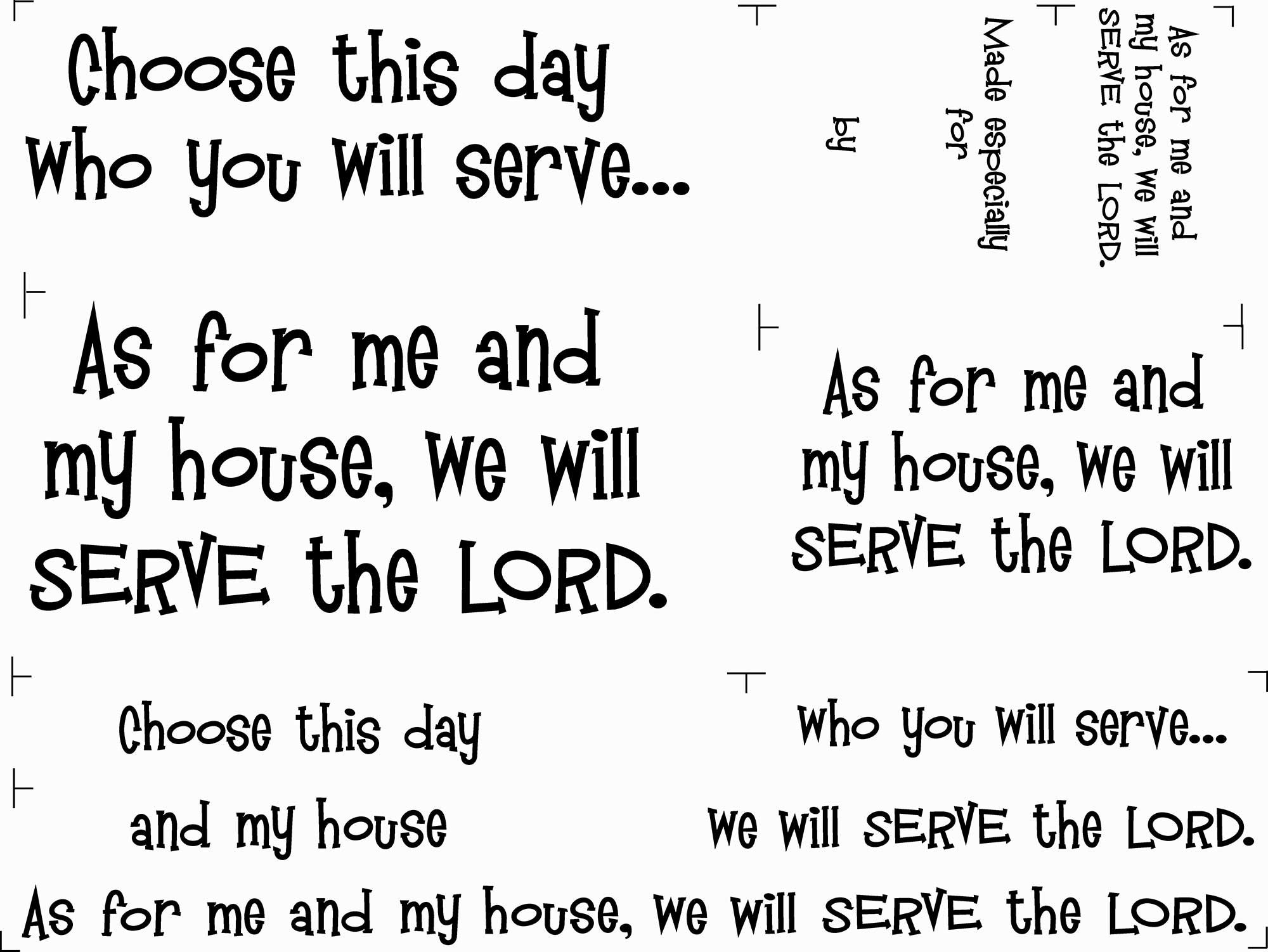 Joshua's Prayer Quilt Fabric Panel