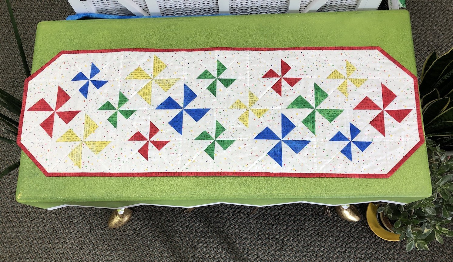 AISH (All Iowa Shop Hop) Table Runner Quilt Kit